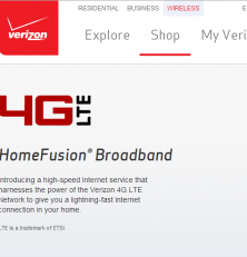 Verizon Home Fusion Broadband