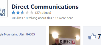 Facebook Direct Communications Reviews